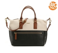 Fossil Lucy Leather Satchel