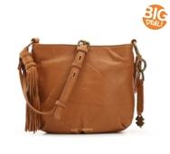 Lucky Brand Tassel Leather Crossbody Bag