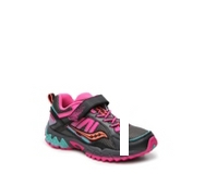 Saucony Excursion Girls Toddler & Youth Velcro Running Shoe