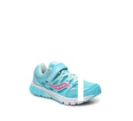 Saucony Baby Zealot Girls Toddler & Youth Velcro Running Shoe
