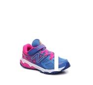 New Balance 680 v3 Girls Toddler & Youth Velcro Running Shoe