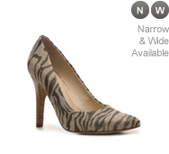 Nine West Gwendle Fabric Zebra Pump