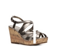 Kelly & Katie Janine Snake Wedge Sandal
