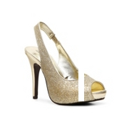 Lulu Townsend Nightout Glitter Pump