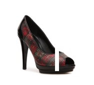 Audrey Brooke Eril Plaid Pump
