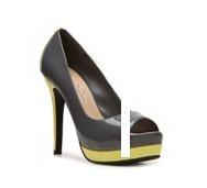 Jessica Simpson Edith Color Block Patent Pump