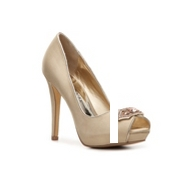 Audrey Brooke Toni Satin Pump