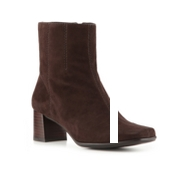 Nine West Pretty Lady Suede Wide Width Bootie