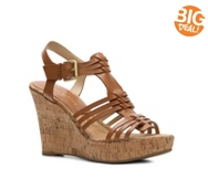 Audrey Brooke Carina Wedge Sandal