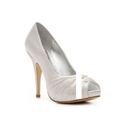 Lulu Townsend Bridal Gretchen Satin Pump