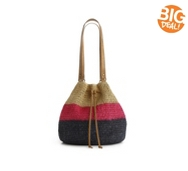 Kelly & Katie Laguna Stripe Bucket Shoulder Bag