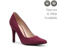 Nine West Gwendle Suede Pump