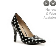 Nine West Gwendle Polka Dot Pump