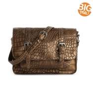 Kelly & Katie Monroe Croc Cross Body Bag