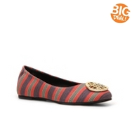 Audrey Brooke Kristin Striped Flat