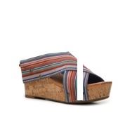 Crown Vintage Delight Multicolor Wedge Sandal