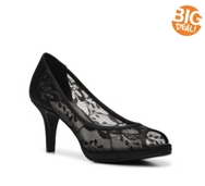 Kelly & Katie Doreen Lace Platform Pump