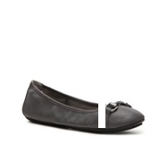 Me Too Limbo Ballet Textured Leather Flat