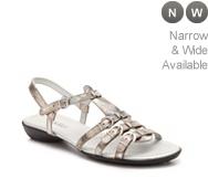 VanEli Tanto Metallic Flat Sandal