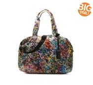 Steve Madden Quilted Floral Weekender Bag
