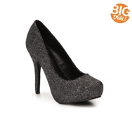 Mix No. 6 Sarti Glitter Platform Pump