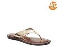 Sam Edelman Kyra Metallic Flat Sandal
