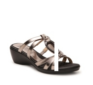 Bellini Trance Metallic Wedge Sandal