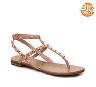 BCBGeneration Glorina Embossed Flat Sandal