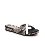 Bellini Tabby Snake Flat Sandal