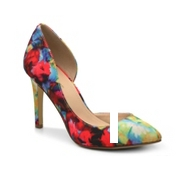 BCBGeneration Haleigh Floral Pump