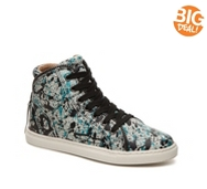 Splendid Sebastian Splattered High-Top Sneaker