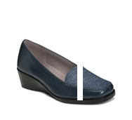 Aerosoles Final Exam Denim Wedge Pump