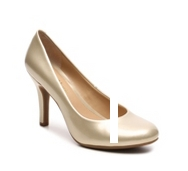 Kelly & Katie Isabel Metallic Patent Pump