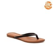 Mercanti Fiorentini Valentina Embossed Flat Sandal