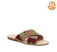 Steve Madden Mylia Fabric Flat Sandal