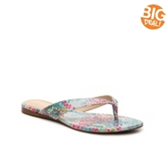 Charles by Charles David Tiki Multicolor Flat Sandal