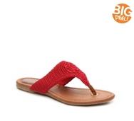 The Sak Shana Woven Flat Sandal