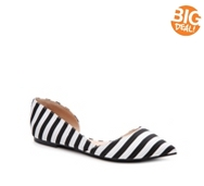 Journee Collection Cortni Striped Flat