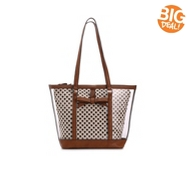 Kelly & Katie Polka Dot Clear Tote