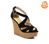 Qupid Shoes Kendall Wedge Sandal