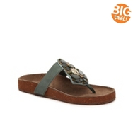 Seychelles Gemini Leather Flat Sandal