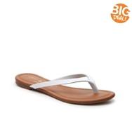 Mercanti Fiorentini Valentina Leather Flat Sandal
