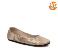 French Sole FS/NY Sloop Metallic Ballet Flat