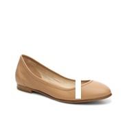 Via Spiga Demetria Leather Ballet Flat