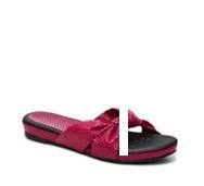 Bellini Tabby Reptile Flat Sandal