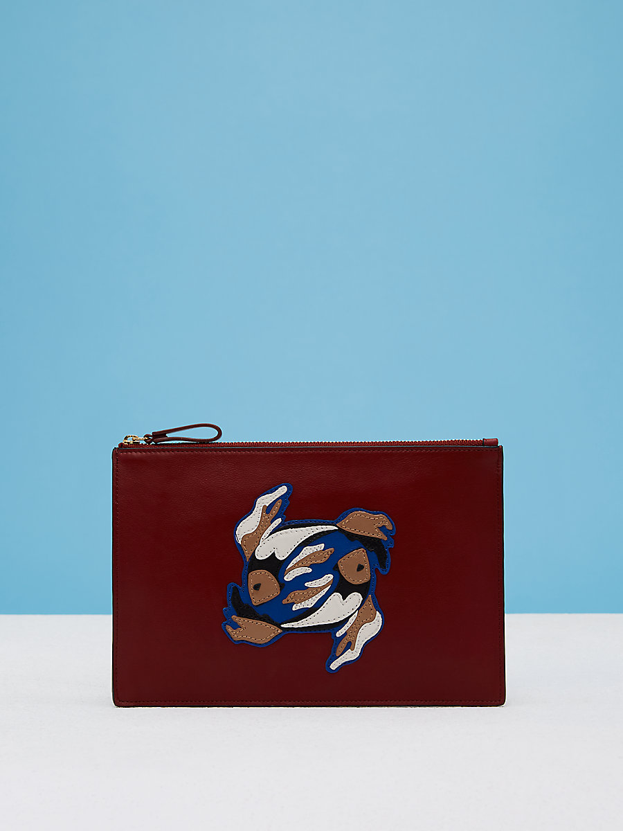 Zodiac Medium Pouch in Pisces by DVF