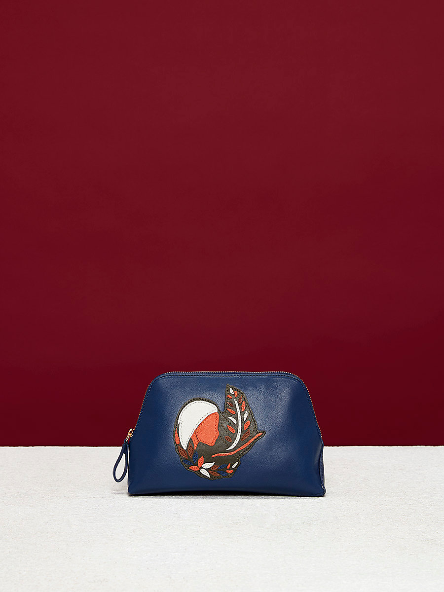 Zodiac Cosmetic Pouch in Virgo - Midnight by DVF
