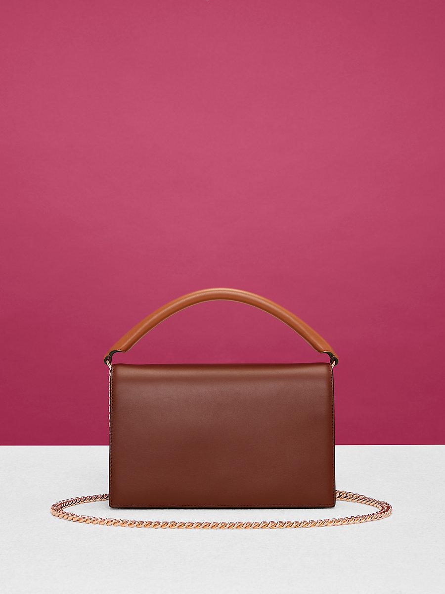 Bonne Soirée Bag in Chestnut Multi by DVF