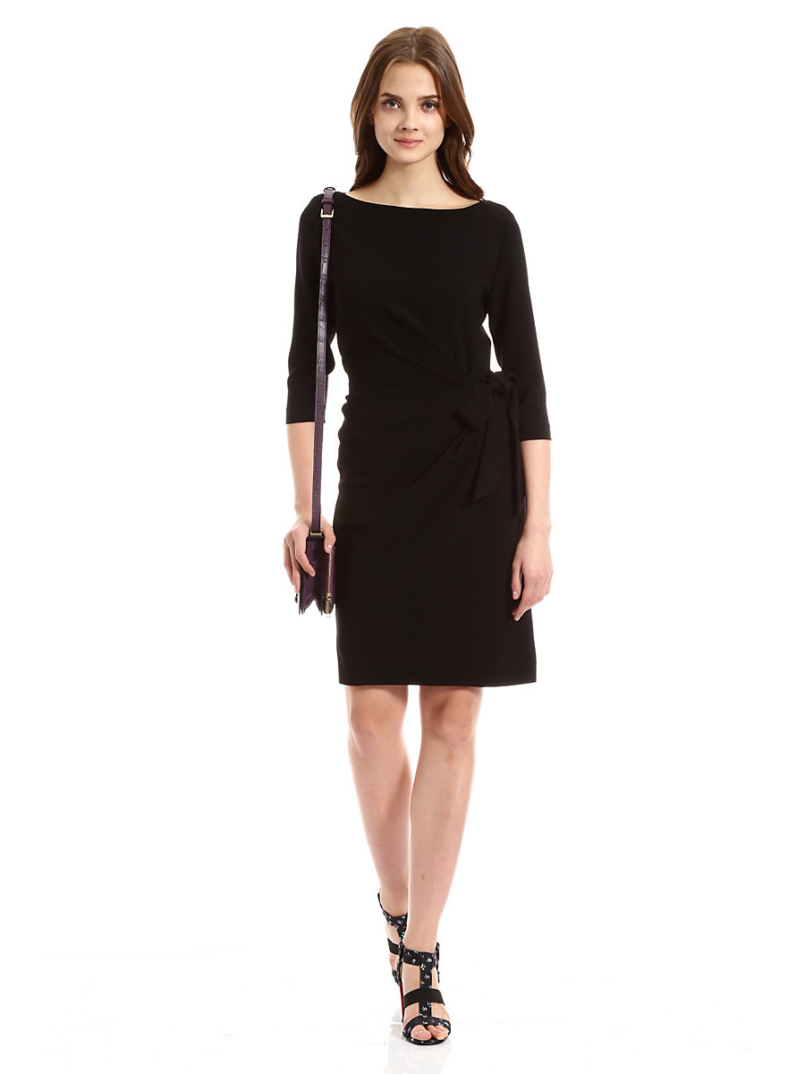 Andy Two Dress in Black by DVF