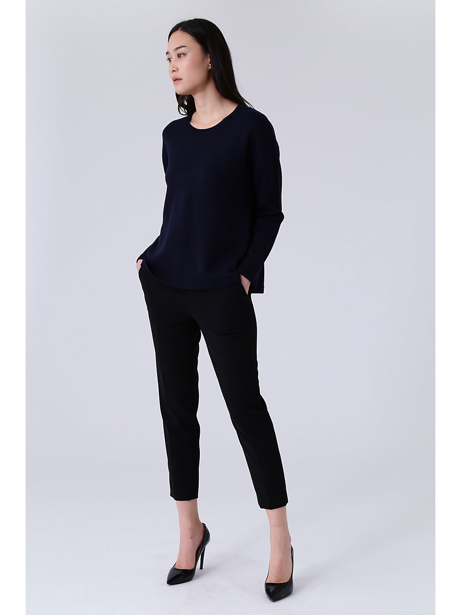 Crewneck Knit in Navy by DVF